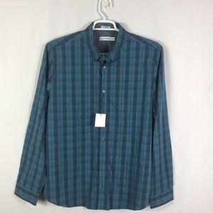 Calvin Klein Men's Shirts Size XL/TG Blue/Gray